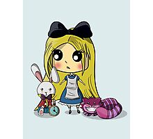 Cute Alice in Wonderland Photographic Print