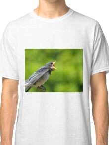 Singing for his supper Classic T-Shirt