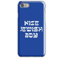 Looking for a Nice Jewish Boy ~ NJB Love Heart ♥︎ Jewish Star Swag #MadEDesigns iPhone Case/Skin