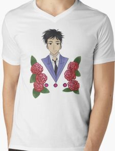 Takashi Morinozuka  Mens V-Neck T-Shirt