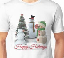 SnowPals Happy Holidays Unisex T-Shirt