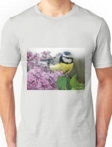 Little Blue Tit Unisex T-Shirt