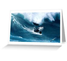 Killer Surf Greeting Card