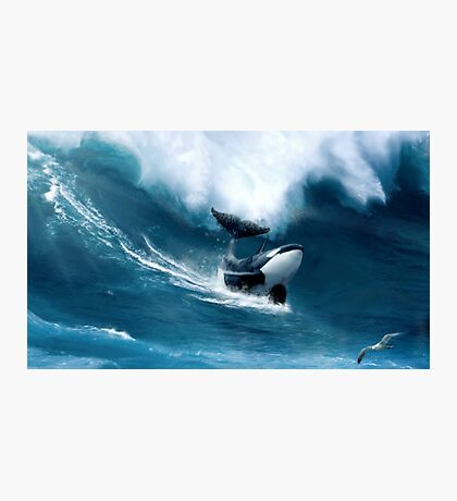 Killer Surf Photographic Print