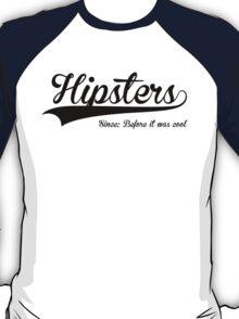 Hipsters-Black Logo T-Shirt