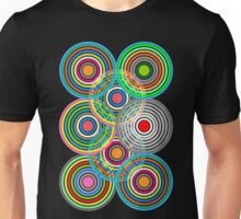 Abstract Overlapping Circles  Unisex T-Shirt