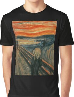 Edvard Munch The Scream Tote Bag Graphic T-Shirt