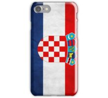 Croatia Flag Phone Cover iPhone Case/Skin