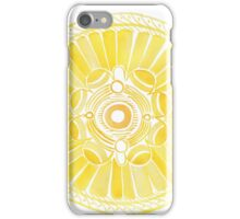 Watercolor ethnic abstract mandala iPhone Case/Skin