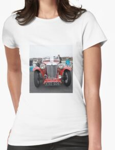 1948 MG TC Womens Fitted T-Shirt