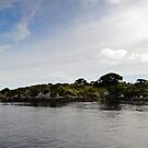 Hells Gate Lighthouse - Macquarie Harbour - Tasmania by Jessica Fittock