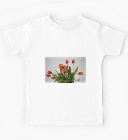 Giving Thanks Tulips Kids Tee