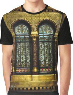 Gothic Window Graphic T-Shirt