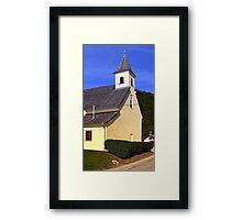 The village church of Niederranna | architectural photography Framed Print
