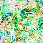 CHARLES BUKOWSKI watercolor portrait.1 by lautir