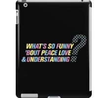Elvis Costello-What's So Funny... iPad Case/Skin