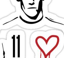 Gareth Bale Heart Sticker