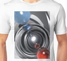 Abstract Camera Lens Unisex T-Shirt