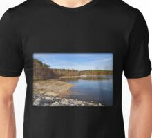Receding Autumn Shoreline Unisex T-Shirt