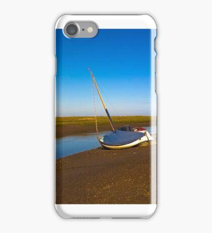 Boat at Blakeney iPhone Case/Skin