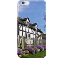 Delightful Cottage in Springtime. iPhone Case/Skin