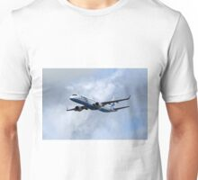 Flybe regional airline company Embraer 195 Unisex T-Shirt