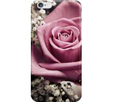 Vintage Pink Rose iPhone Case/Skin