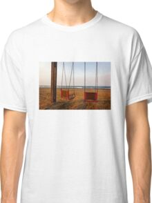 Swings by the sea Classic T-Shirt