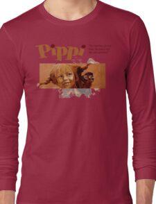 Pippi Longstocking - quote Long Sleeve T-Shirt