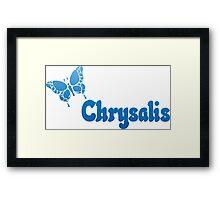 Chrysalis Records Framed Print