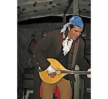 Singing Pirate at Sleepy Hollow Photographic Print