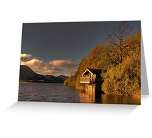 Ullswater Sunset Greeting Card