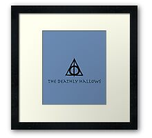 Harry Potter, The Deathly Hallows  Framed Print
