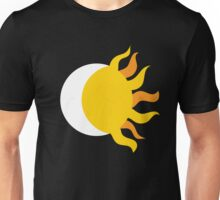 Day and Night : Sun and Moon : Geometric : Fire Tribal Print Unisex T-Shirt