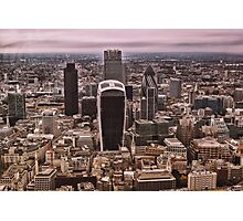 London Skyline (LON1) Photographic Print