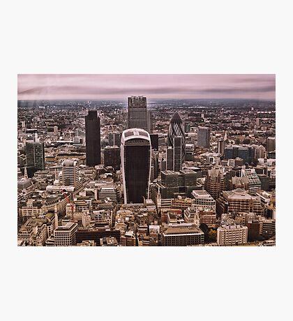 London Skyline (LON1) Photographic Print
