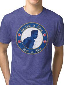 Cesc Fabregas is Blue Tri-blend T-Shirt