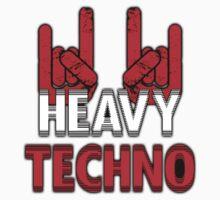 Heavy Techno Rocks Kids Tee