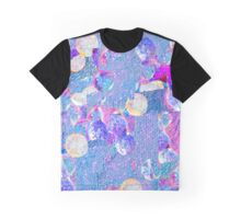 Secret Hearts - Pastel Opals And Pearls Abstract Digital Painting Graphic T-Shirt