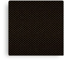 Gold Scales Canvas Print