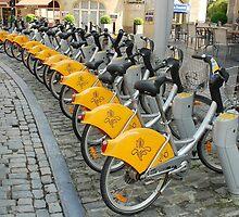 See Brussels by bike by Arie Koene