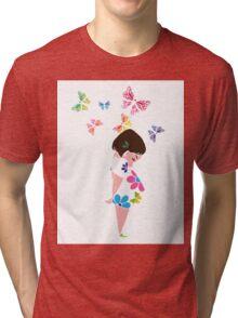 colour my world Tri-blend T-Shirt