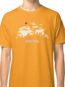 Boston Massachusetts Skyline Cityscape Classic T-Shirt