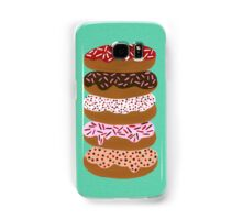 Donuts Stacked on Mint Samsung Galaxy Case/Skin