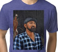 Sardonic Smile Tri-blend T-Shirt