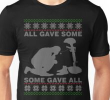 Gave Some Gave All, Veteran Ugly Christmas Sweater T-Shirt Unisex T-Shirt
