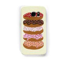 Donuts Stacked on Cream Samsung Galaxy Case/Skin