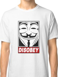 Disobey - V Classic T-Shirt