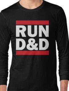 RUN D&D - classic Long Sleeve T-Shirt