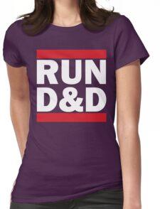 RUN D&D - classic Womens Fitted T-Shirt
